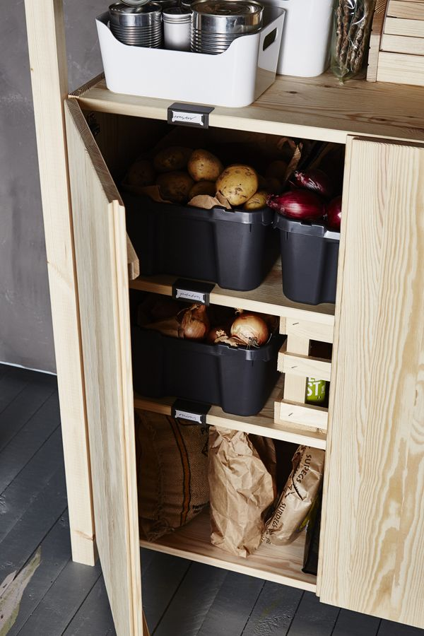 The IKEA IVAR storage furniture system is designed so you can combine the different pieces to suit you and your space. Made of durable solid pine, you can paint or oil it the way you like, too.