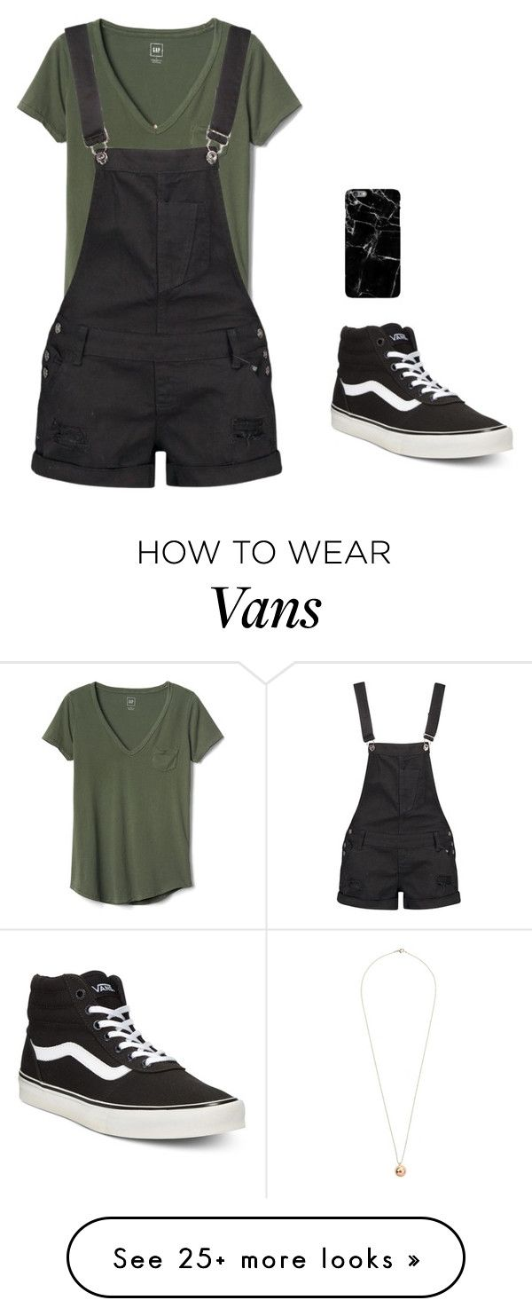 """X"" by gccassadrias on Polyvore featuring Gap, Boohoo, Vans and Dorothy Perkins"