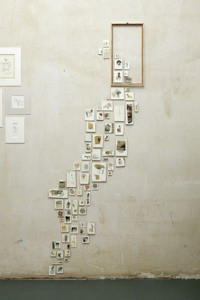 We could do a really cool wall collage that spells Ps?!