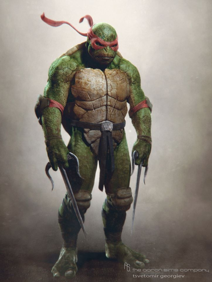 Teenage Mutant Ninja Turtles Concept Art