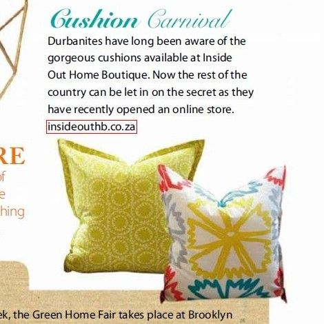 Our little snip-it in the Garden and Home magazine.