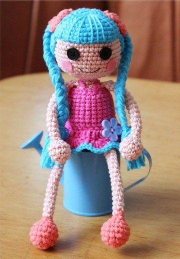 Crochet Lalaloopsy Doll Amigurumi Free English Pattern