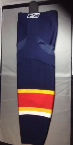 "Florida Panthers Hockey Socks Reebok Edge SX100 CCM 27"" Adult Medium Navy 1 Pair"