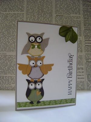 WHOO! More owls! So fun. How cute are these guys...
