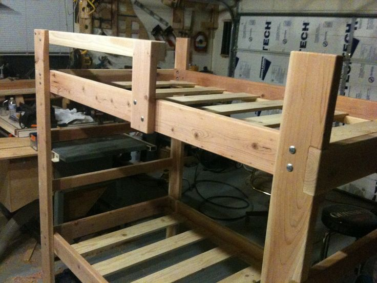 Bunk Beds https://www.etsy.com/shop/RCrandellWoodworking