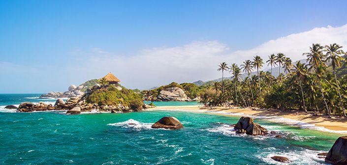 Beach @ Tayrona Park #travel #colombia