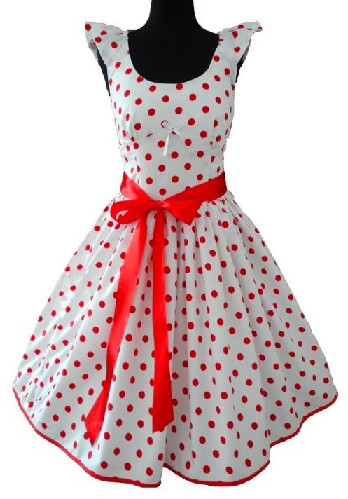 Petticoat-Kleid mit süßen Tupfen - Schnittmuster und Nähanleitung via Makerist.de