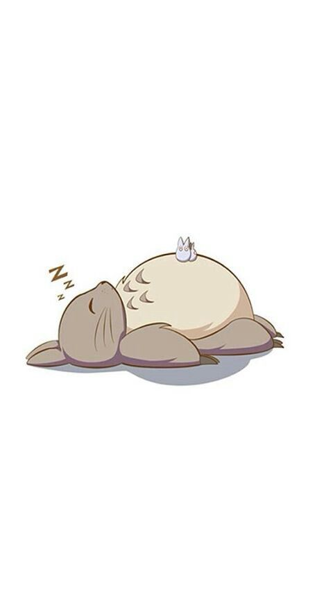 (= ̄ ρ ̄=) ..zzZZ #Totoro ☆彡