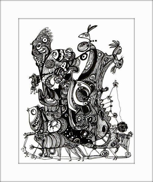 HäkelBild V von Etelka Kovacs-Koller - mad for art auf DaWanda.com