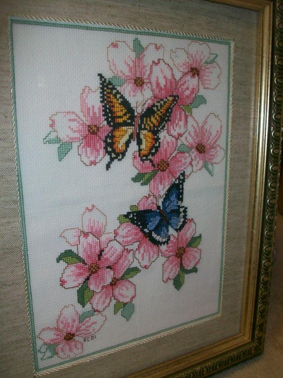 Framed Cross Stitch: Cross Stitch