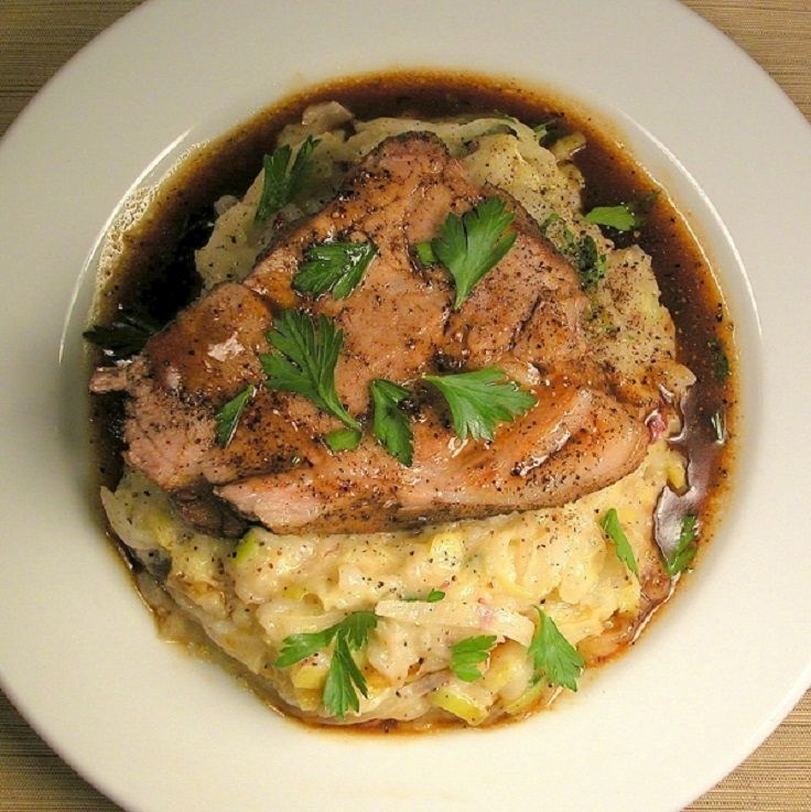 (Ireland) Jameson Whiskey-Braised Pork Shoulder With Irish Colcannon