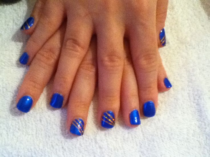 Geleration blue lagoon 985 with bronze stripes