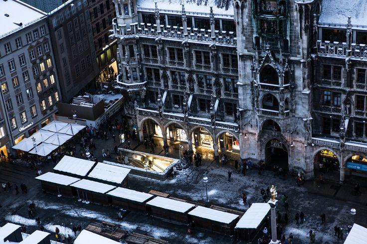 Photograph marienplatz in the winter by Thorsten Henning on 500px