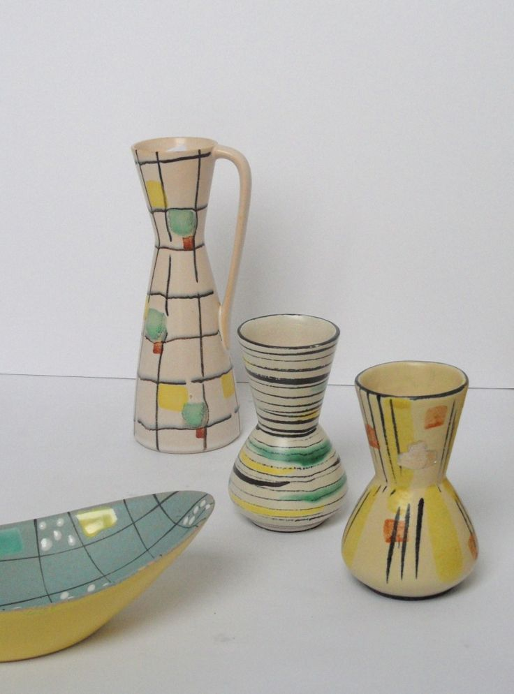 gorgeous 1950's pottery