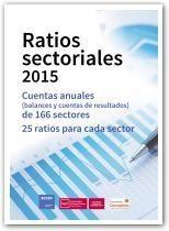 Ratios sectoriales 2015 : cuentas anuales (balances y cuentas de resultados) de 166 sectores : 25 Ratios por sector (2017)