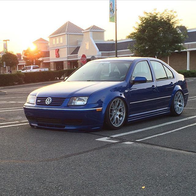 jetta mkiv gli bagged on Instagram
