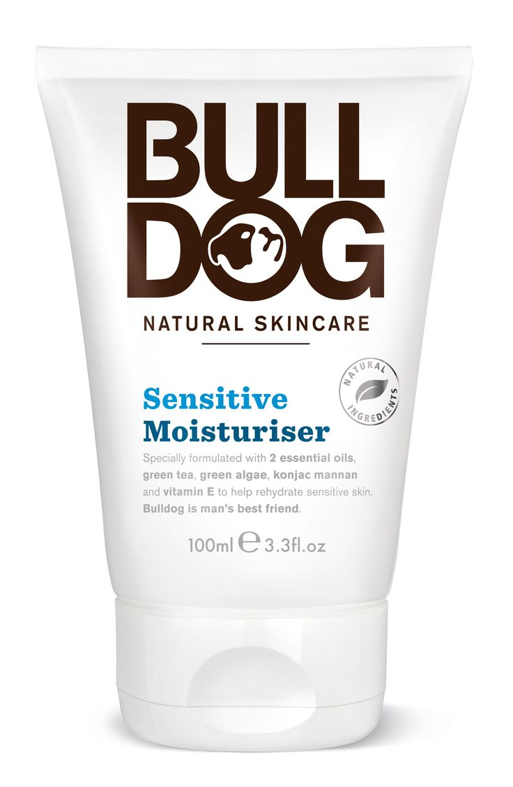 Bulldog Skincare Sensitive Moisturiser for men: Great reviews coming in for Bulldog Natural Skincare (click through to have a read!). #bulldog #skincare