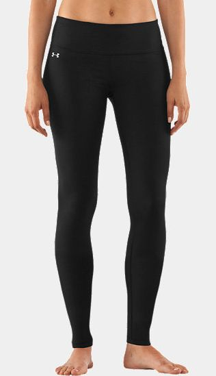 Studiolux Leggings: Great for the studio — perfect for the street. These Under Armour Studiolux Leggings ($70) are the perfect dual leg wear. Take them from your first sun salutation to your latte and look good while doing it. These leggings fit great into boots for a sleek, sexy look.