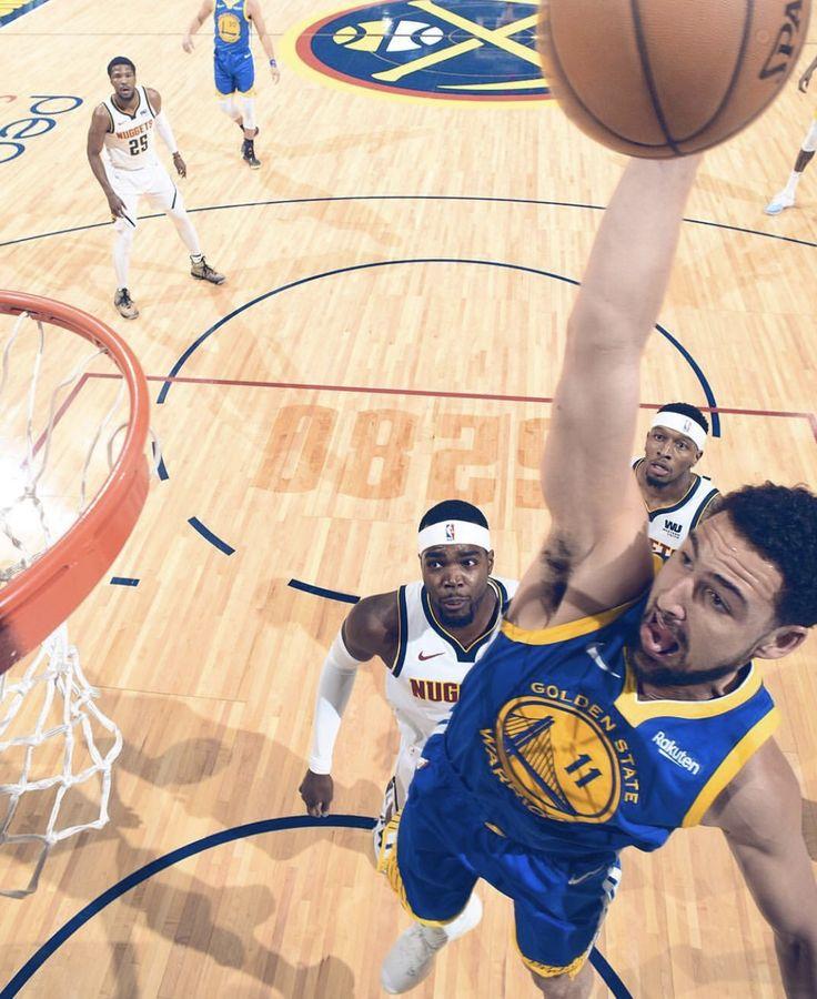 Denver Nuggets X Golden State Warriors: Warriors Torch Nuggets 1/15/19; DENVER -- Golden State