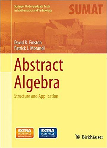 51 best group theory raccah algebra images on pinterest group abstract algebra structure and application springer undergraduate texts in mathematics and technology fandeluxe Image collections