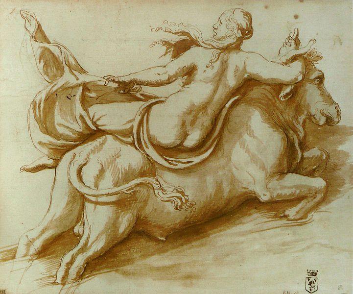 Romano Giulio, the Rape of Europa