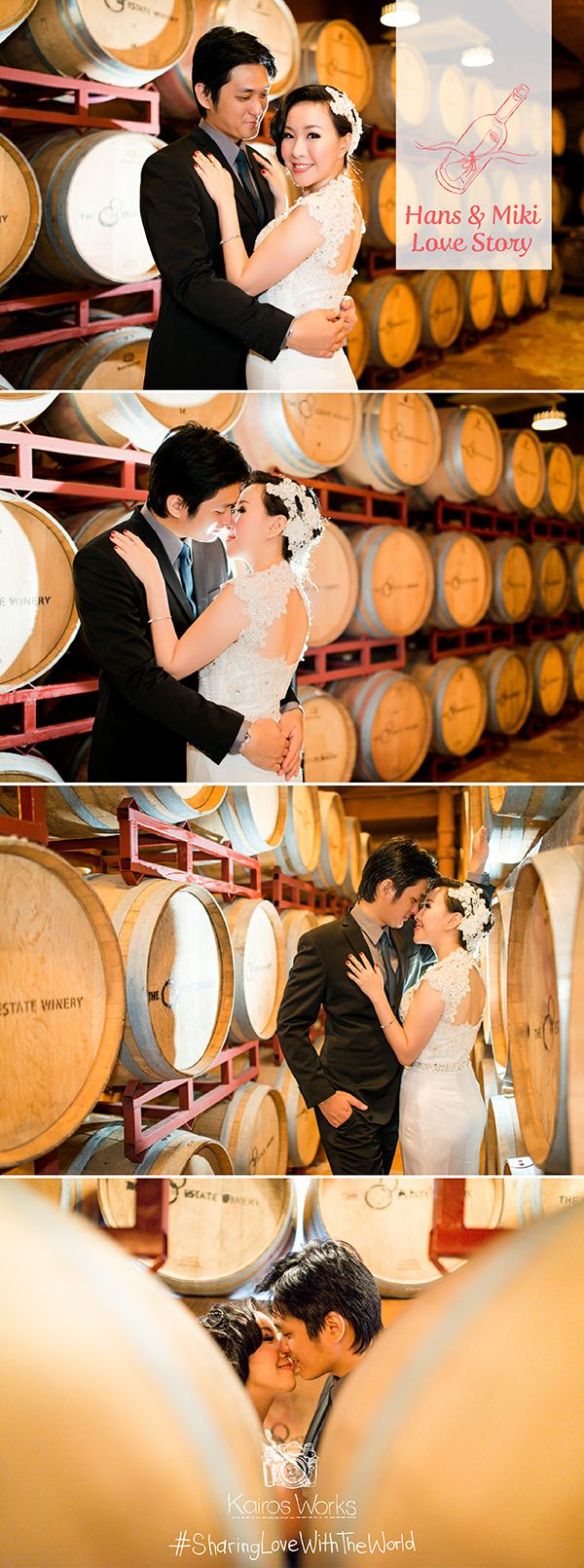 They love wines, and to make their session more personal, I suggested them to do their session at a wine storehouse, and they agreed without thinking twice. This is why I adore my Job, I can be a witness of how beautiful love can be, and have the privilege to capture it's beauty on frames. #SharingLoveWithTheWorld