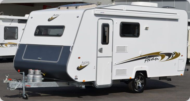 Avan's revolutionary construction techniques and sophisticated designs deliver quality caravans. This light weight caravan has the lot with a fantastic layout to make any holiday a great one, whether it is a short or long getaway. The Avan Aspire is comfortable for 1 or 2 people with an island bed with innerspring mattress, A/Con, 3 way fridge, cook top, TV / DVD player and wind out awning. Because this caravan is light weight it can be towed with most vehicles.