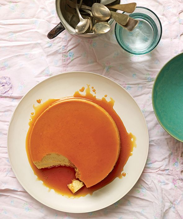 Flan de Leche Recipe (Creamy, milky, not egregiously sweet, and indefinably lovely.)