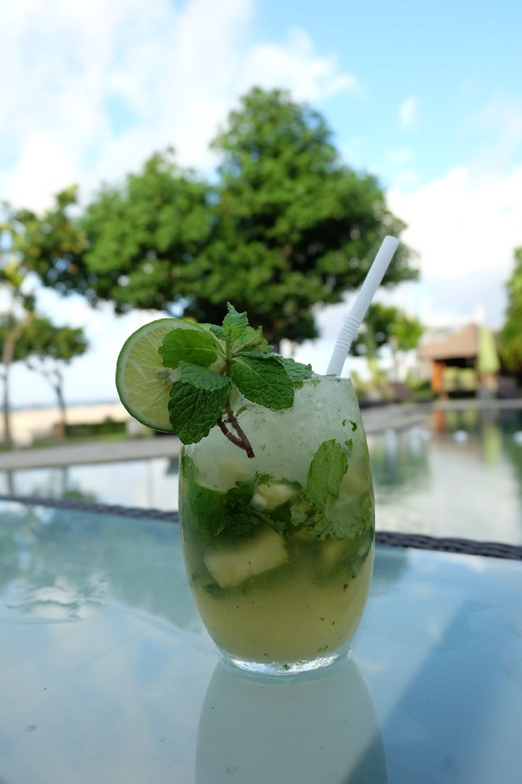 Tag who you'd be sipping with! There are not many beverages more refreshing than a mojito at TAO Bali—and the view's pretty great too!    #thetanjungbenoa #TheTaoBali #bali