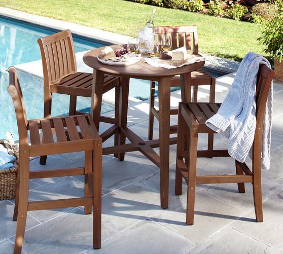 chatham round fixed bar table u0026 chair set