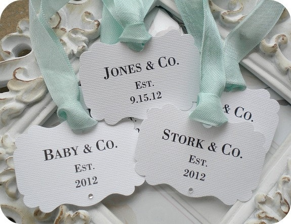18 best tiffany co tiffany blue baby shower by lala kares theme personalized baby co tags 10 bride and co baby gift tags custom favor tags wedding favor tags wedding gift tags shower favor tags negle Gallery