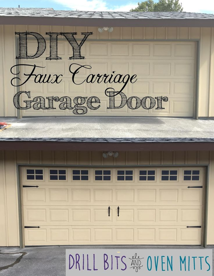 157 best images about diy garage projects on pinterest for Build carriage garage doors