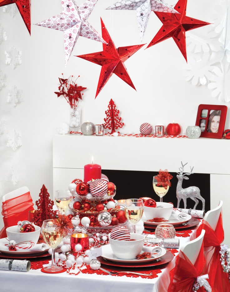 #poundlandchristmas Poundland table decorations, don't break the bank and your table will still look amazing!