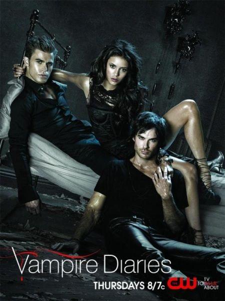 The Vampire Diaries  Elena, Damon & Stefan