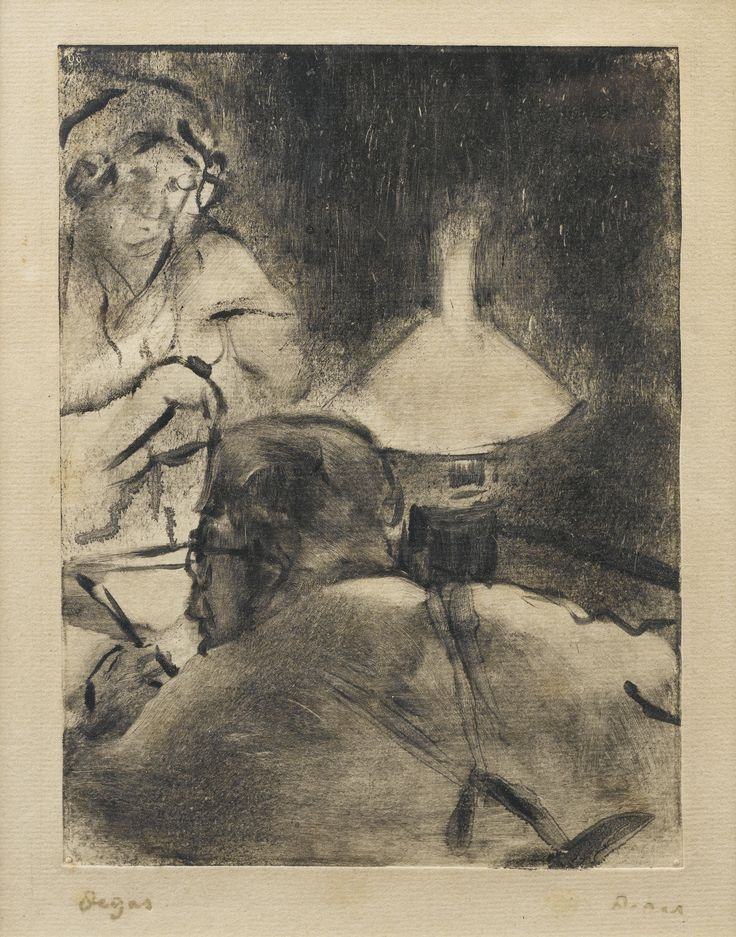 667 best reading images on pinterest reading art artists and edgar degas reading under the lamp m cardinal fandeluxe Image collections
