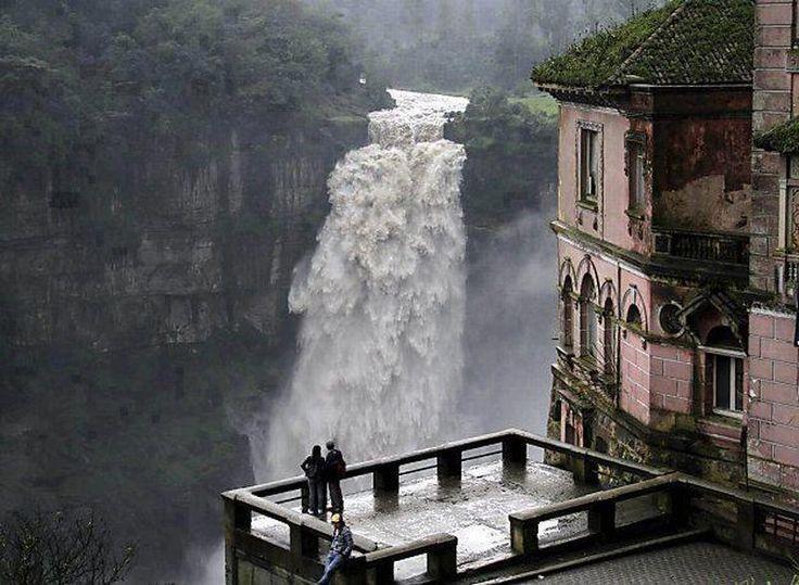 Tequendama Falls of Bogota River, Columbia