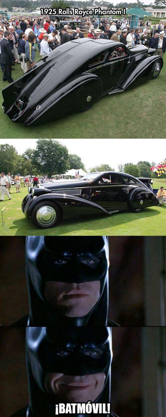 El Batmóvil de los domingos de Batman        Gracias a http://www.cuantocabron.com/   Si quieres leer la noticia completa visita: http://www.skylight-imagen.com/el-batmovil-de-los-domingos-de-batman/
