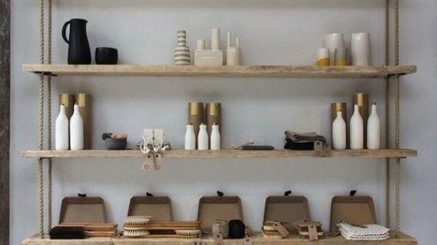 Meer dan 1000 idee u00ebn over Planken Ophangen op Pinterest   Pallet Houten Wanden, Planken en Muur