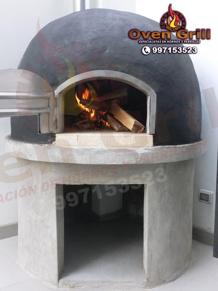 horno de barro en colores oven grill cel