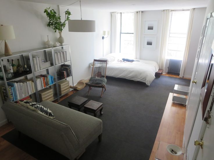 Marvelous Laura Cattanou0027s Brooklyn Alcove Studio Apartment