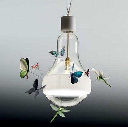 inspiration by Ingo Maurer