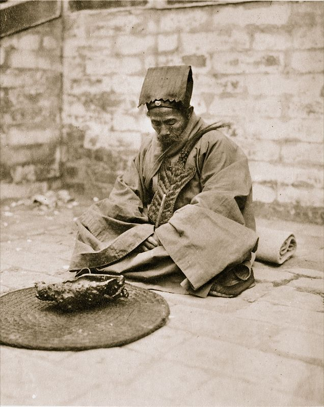 #Taoist #Priest in Beijing, #China, by Sidney David #Gamble (1924-1927)