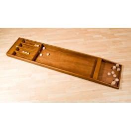Un magnifique jeu de billard hollandais où vous devez lancer les palets de bois.
