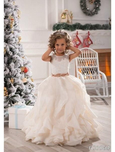 2016 Flower Girls Dresses For Weddings Jewel Girls Pageant Dresses Lace Applique Organza Ruffles Long Girl Princess Ivory Party Gowns Ba2194 White And Purple Flower Girl Dresses Beautiful Girl Dress From One Stopos, $82.09| Dhgate.Com