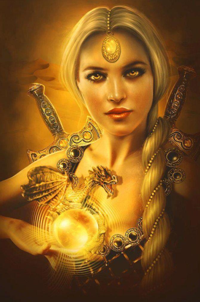 Woman Beautiful Women Goddess Art 74
