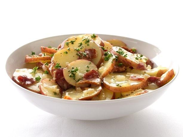 P-Healthified Hot German Potato Salad