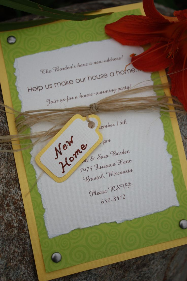 Housewarming great ideas pinterest housewarming for How to organize a housewarming party
