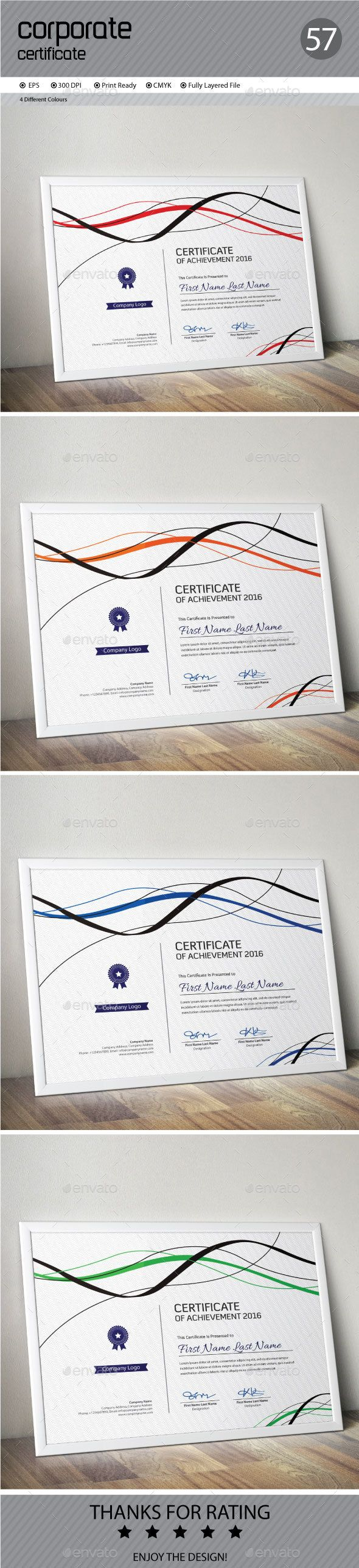 Certificate Template Vector EPS. Download here…