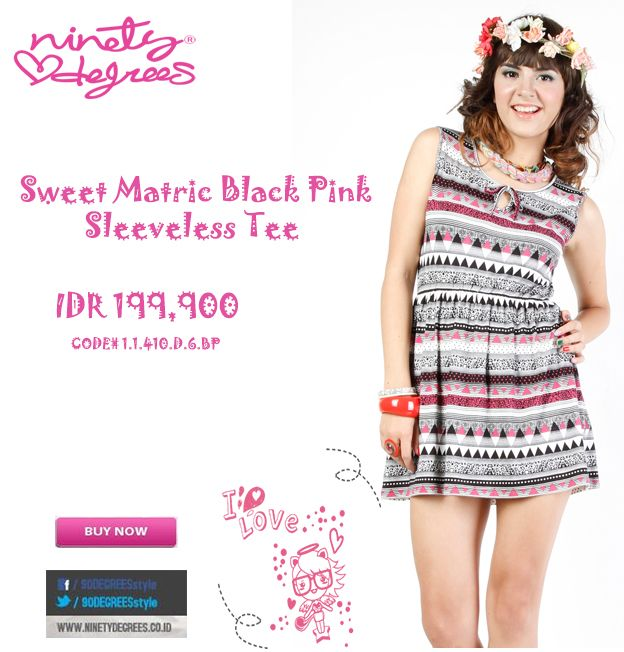 Are you sweet looking Girls ? put this on will match your style IDR 199,900 >> http://ow.ly/vKmOD