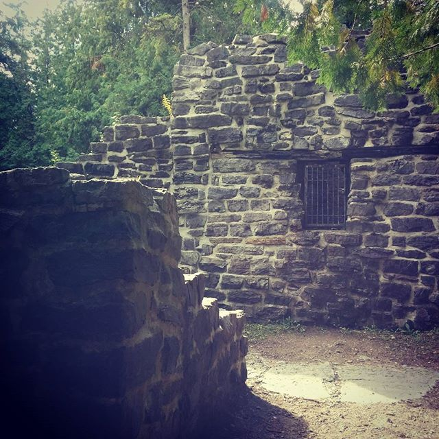 Trail running and ruins in West Ottawa at Lime Kiln Trail